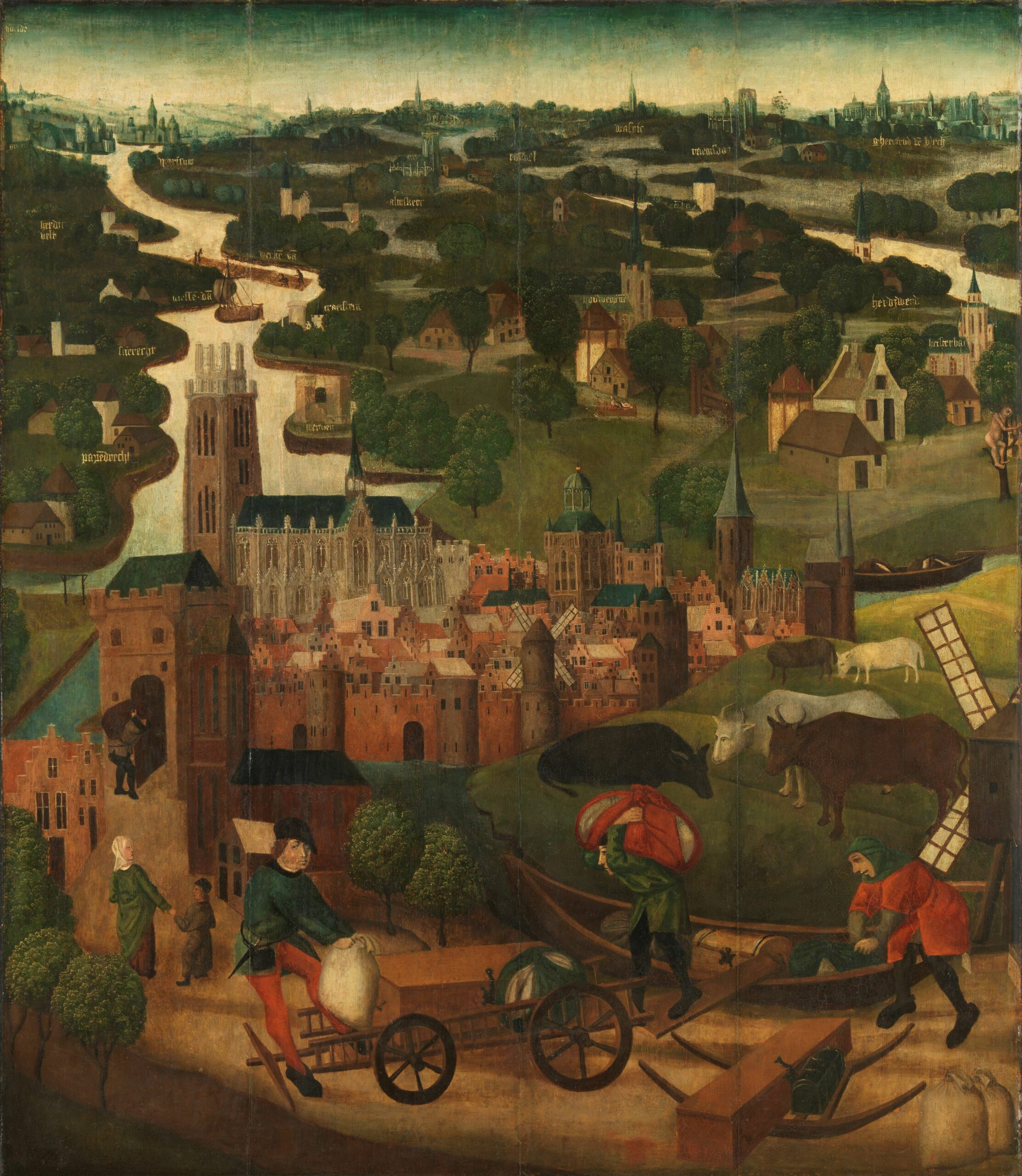 Rijksmuseum, The Saint Elizabeth's Day Flood (Panel A)