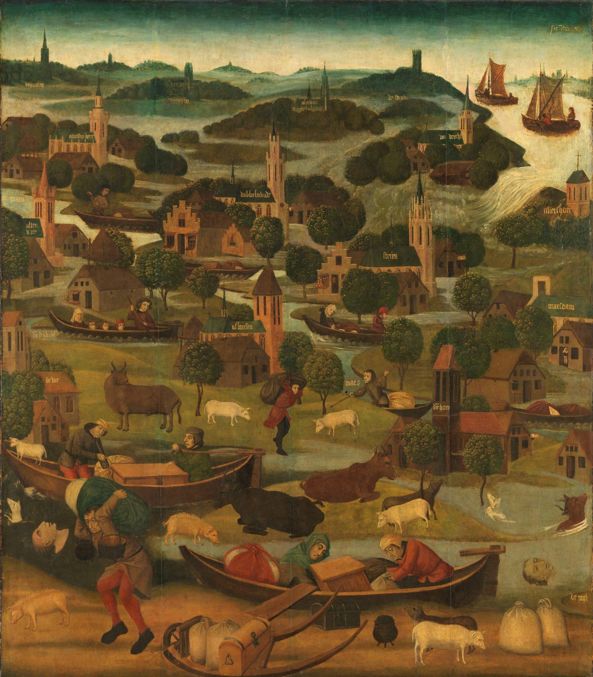 Rijksmuseum, The Saint Elizabeth's Day Flood (Panel B)